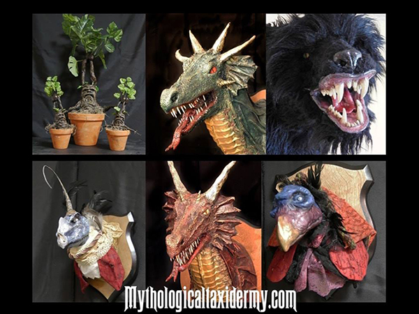 Fifth Annual Mythological Taxidermy Exhibition