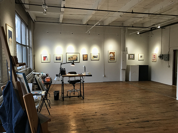 One-Stop Holiday Shopping at Lisa Wagner's Art Studio!