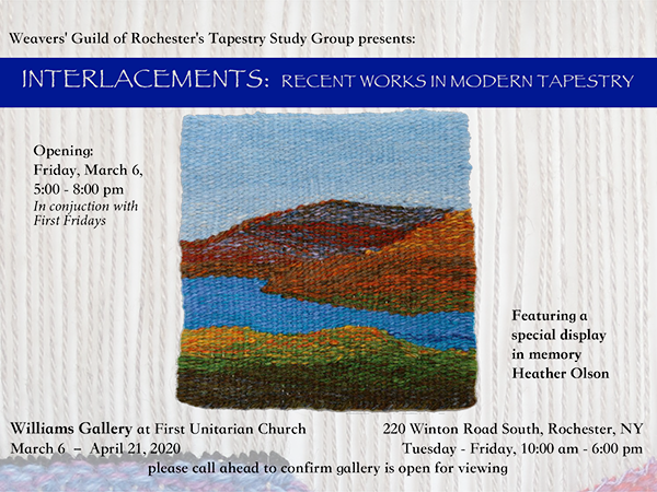 Interlacements: Recent Works in Modern Tapestry