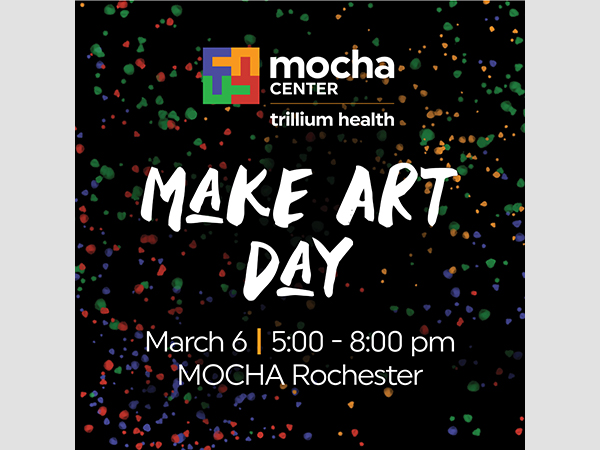 Make Art Day at MOCHA Rochester [#6x6MAD]