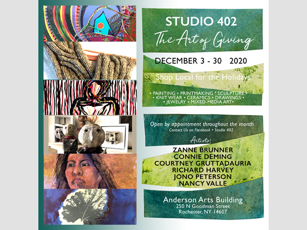 The Art of Giving, Studio 402 Holiday Show