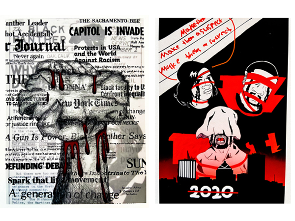 Proclamations in Black, White, and Red