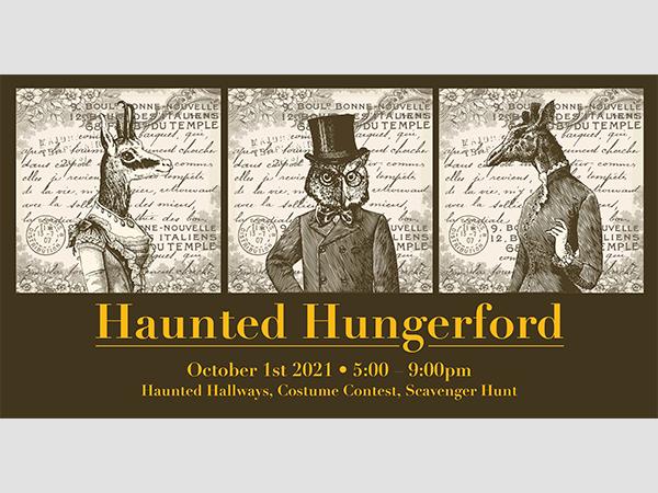 Kick off the Halloween Season at Haunted Hungerford!