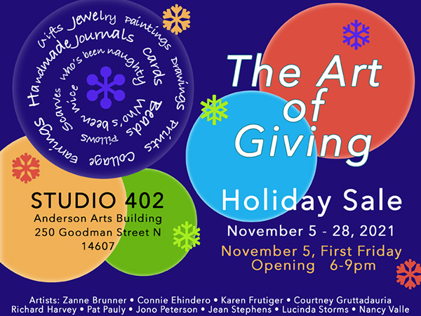 """""""The Art of Giving"""" Holiday Show"""